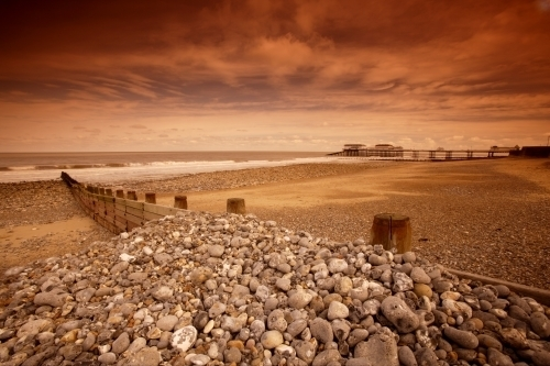 Cromer Beach - Norfolk I by Richard Osbourne