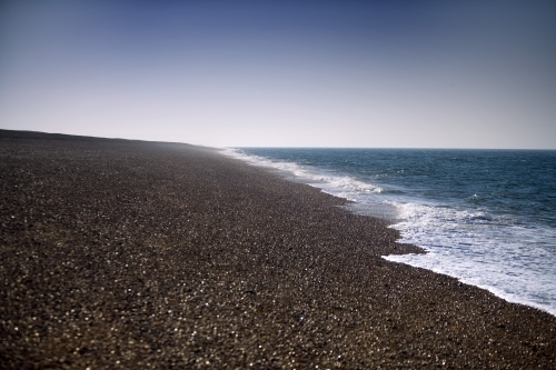 Cley Beach - Norfolk by Richard Osbourne