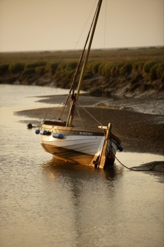 Sailing Boat - Blakeney by Richard Osbourne