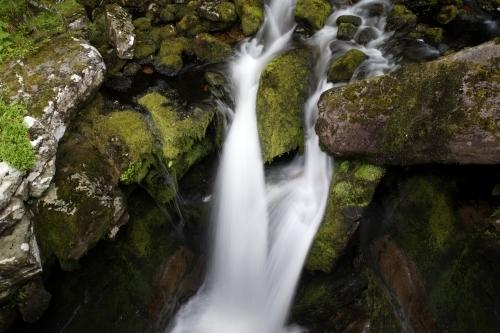 Scottish Waterfall II by Richard Osbourne