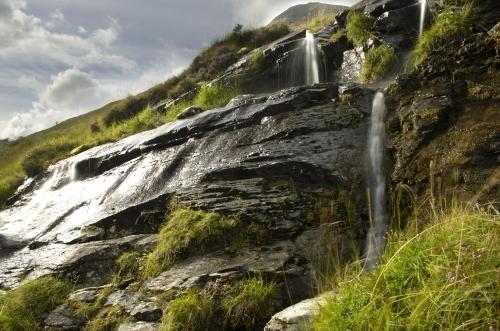 Glen Coe Waterfall by Richard Osbourne
