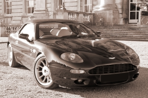 Aston Martin DB7 by Richard Osbourne