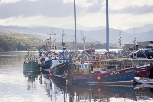 Ullapool Harbour - Scotland by Richard Osbourne