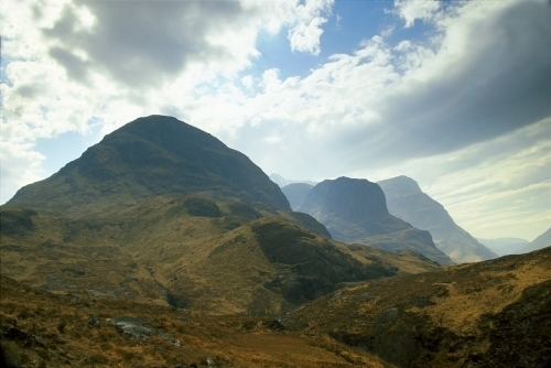 Glen Coe I, Scotland by Richard Osbourne