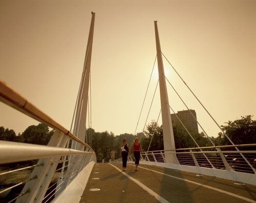 Friendship Bridge Norwich by Richard Osbourne