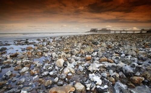 Cromer Pier Norfolk by Richard Osbourne