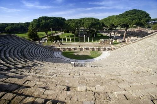 Rome - Ostia Antica I by Richard Osbourne