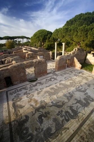 Rome - Ostia Antica II by Richard Osbourne