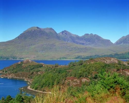 Ben Alligin, Torridon, Scotland by Richard Osbourne
