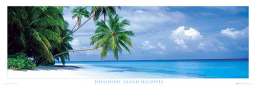 Maldives - Fihalhohi island by Anonymous
