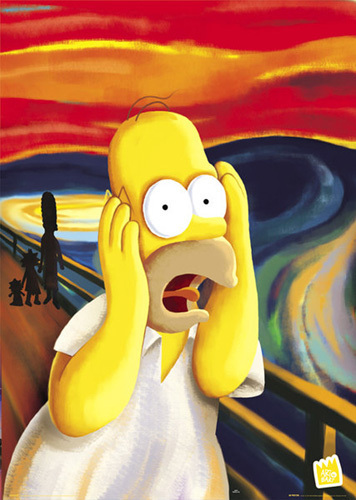 The Simpsons - Scream by Anonymous