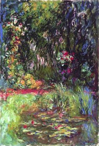 Water Lily Pond,1918 by Claude Monet