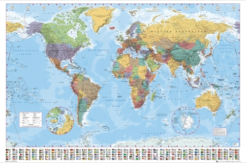 World Map 06 by Anonymous