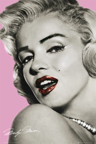 Marilyn Monroe - Pink by Anonymous