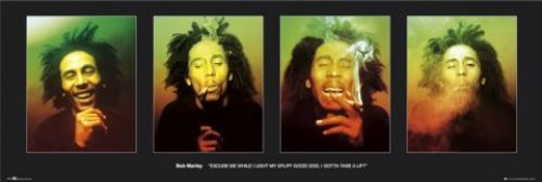 Bob Marley - Faces by Anonymous