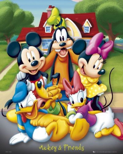 Mickey Mouse and friends by Disney