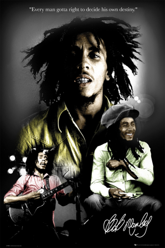Bob Marley by Anonymous