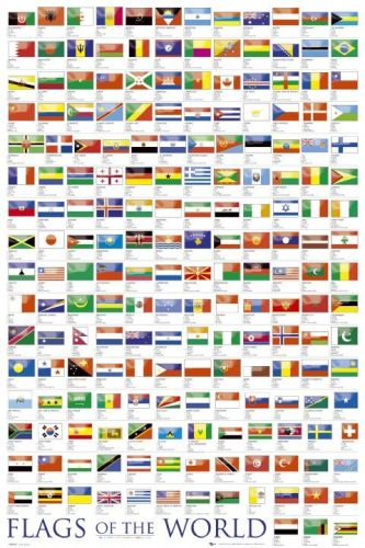 Flags of the world 2010 by Anonymous