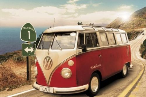 Californian camper - Route one by Anonymous