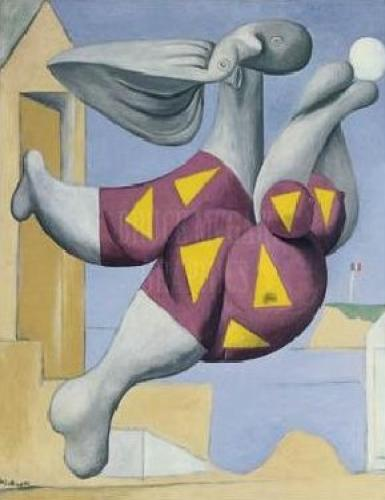 Bather with Beachball by Pablo Picasso