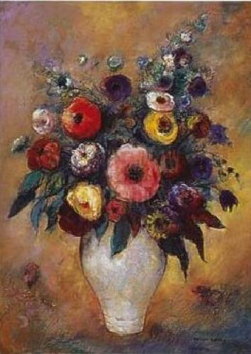 Vase of Flowers, 1912 by Odilon Redon