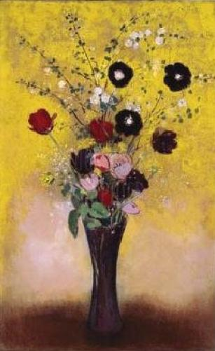 Vase Of Flowers, 1916 by Odilon Redon