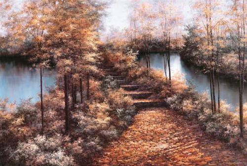 Autumn Leaves by Diane Romanello