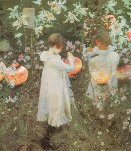 Carnation Lily, Lily Rose by John Singer Sargent