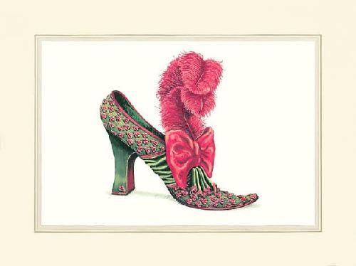 Charlotte's Shoe by Jerry Saunders