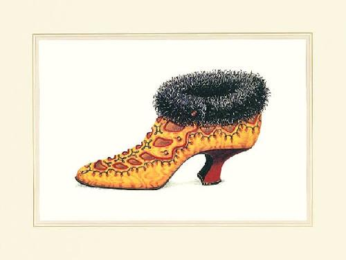 Antoinette's Shoe by Jerry Saunders