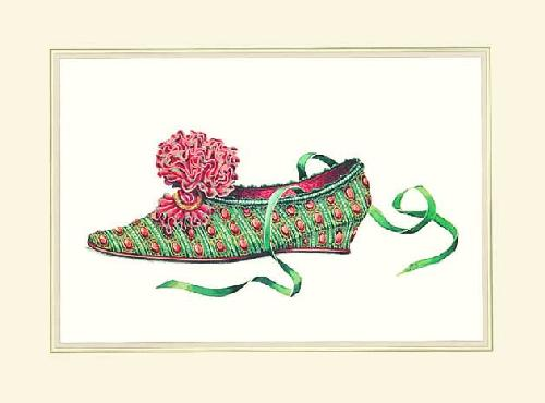Theresa's Shoe by Jerry Saunders