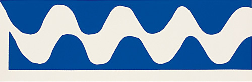 La vague, 1952 (Silkscreen print) by Henri Matisse