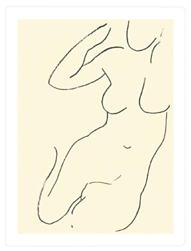 Sirene, 1949 (Silkscreen print) by Henri Matisse