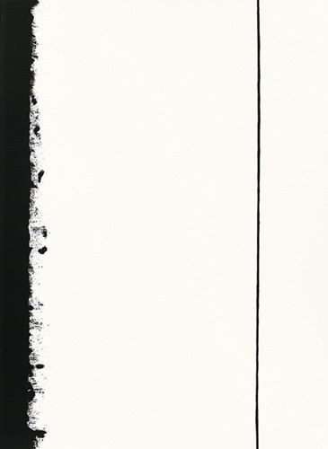 Fifth station, 1960 (Silkscreen print) by Barnett Newman