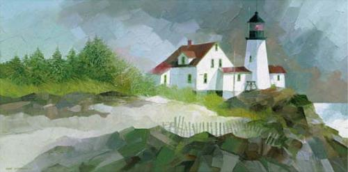 Harbour Sentinel by Albert Swayhoover