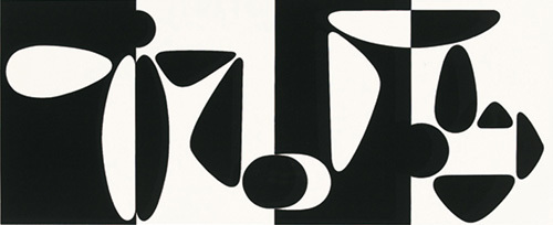 Tampico, 1953 (Silkscreen print) by Victor Vasarely