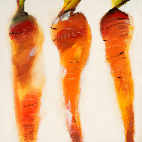 Carottes, 2006 by Nathalie Clement