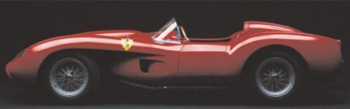 Ferrari Testarossa, 1958 (side view) by Silvano & Paolo Maggi