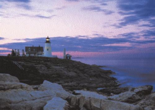 Lighthouse by David Sulsy