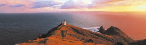 Cape Reinga, North Island, New Zealand by Andris Apse