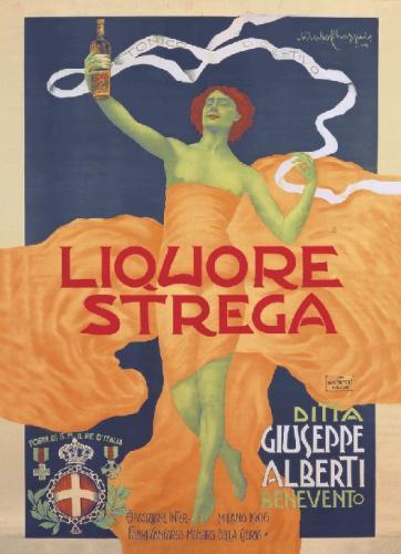 Liquore Strega, 1906 by Alfredo Chappuis