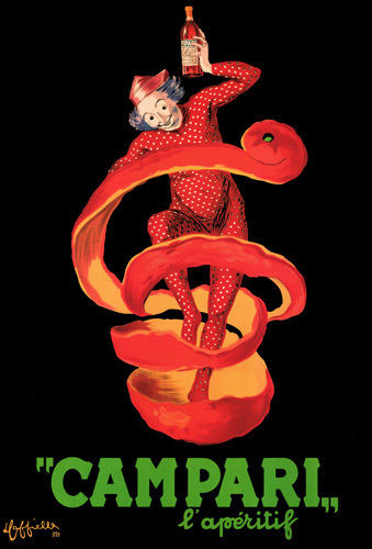 Campari l'Aperitif by Leonetto Cappiello