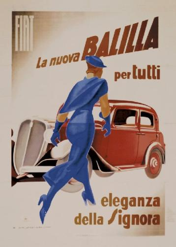 Balilla, 1934 by Marcello Dudovich