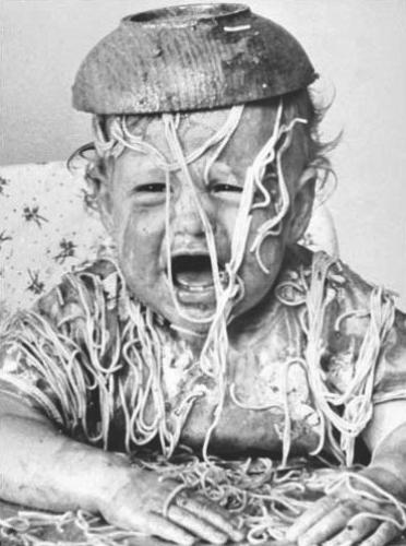 Spaghetti Head by Babies Collection