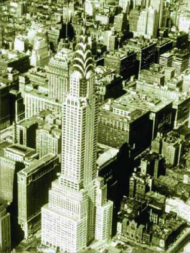 The Chrysler Building, 1948 by B & W Collection
