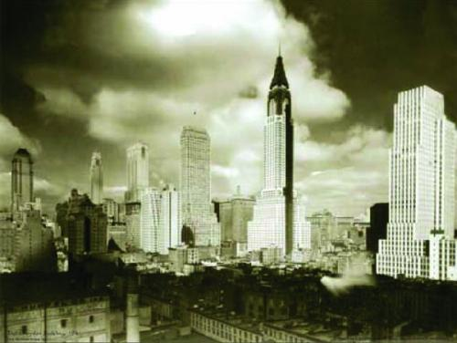 The Chrysler Building, 1941 by B & W Collection