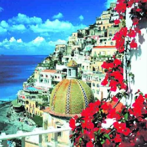 Positano, Italy by Stuart Black