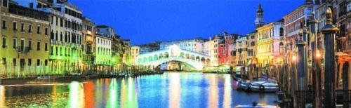Rialto Bridge, Venice by John Lawrence