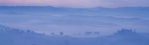San Quirico, Tuscany by Paul Franklin