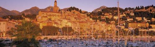 Menton, France by John Lawrence